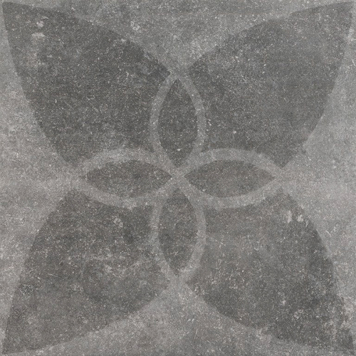 Hormigon Butterfly Antracite Decor 60x60